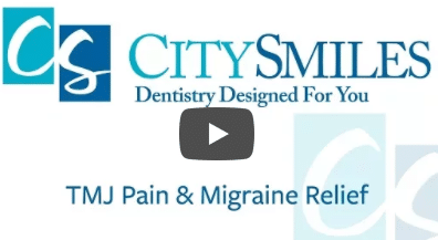 City Smiles can help with TMJ